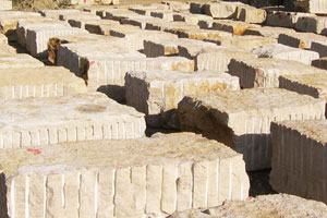 03. jura limestone blocks
