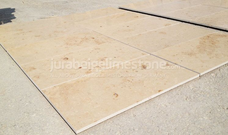 Jura Beige Limestone Mock-Up