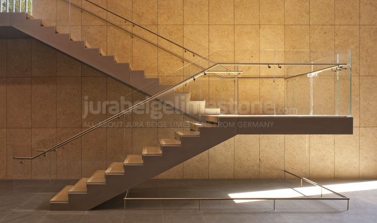 Jura Beige limestone wall coverings